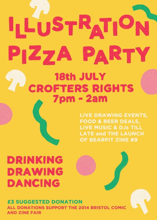 Illustration_Pizza_Party_FlyerRGB