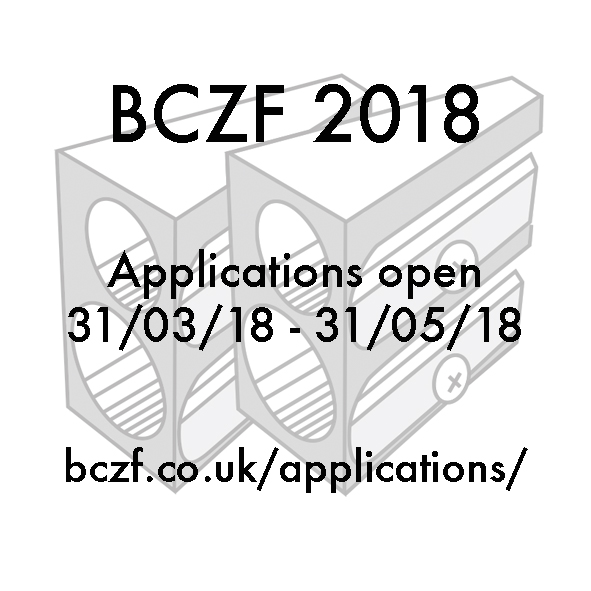 BCZF 2018 applications open 10