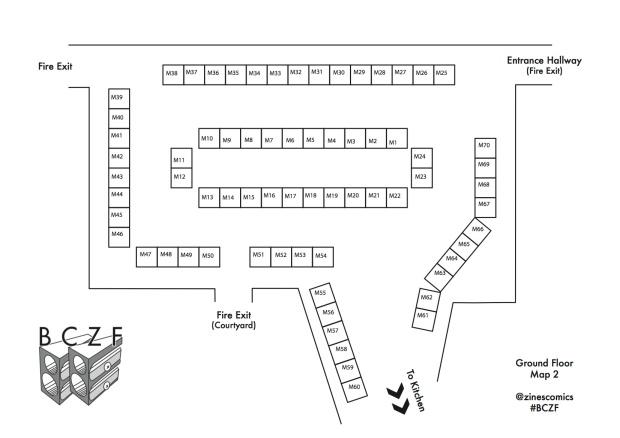 BCZF Main Hall Floorplan